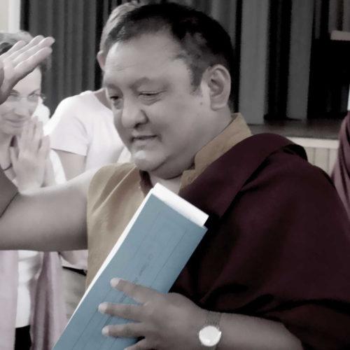 H.H. Shamar Rinpoche in Renchen