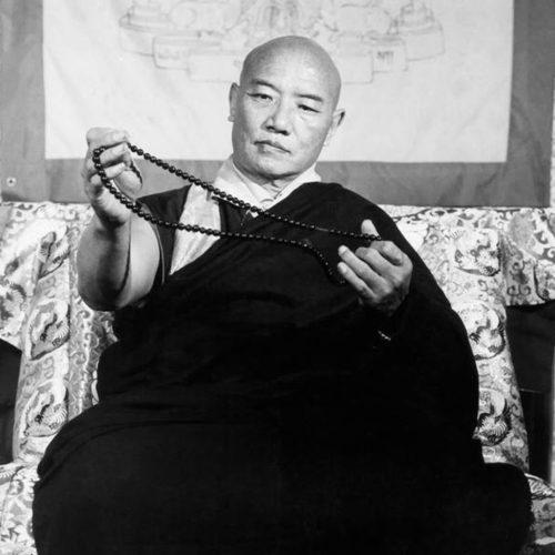 KARMAPA CHENNO – 16. Karmapa Rangjung Rigpe Dorje (Photo © Fraser Shein)