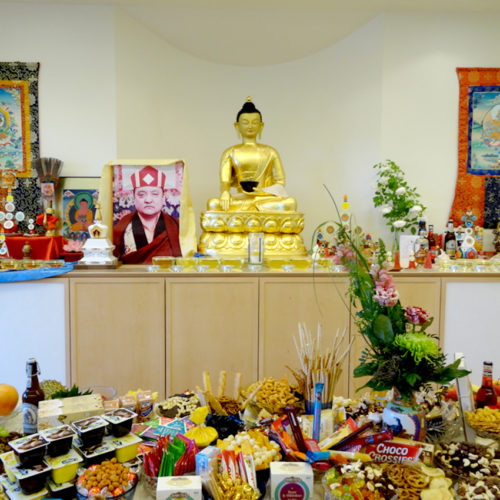 Amitabha Tsok Puja with Heaven Six and Lama Walli – Möhra 2018
