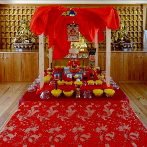 Gompa Bodhi Path Renchen-Ulm | Gyalwa Gyatso Practice 2019